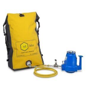SD Labs Electrostatic Backpack Spray System, 110 VAC, 60 Hz.